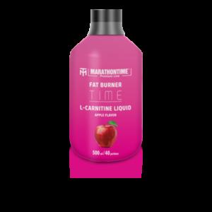 Marathontime Premium Line,  L-karnitin Alma ízű ital 500 ml (40 adag)